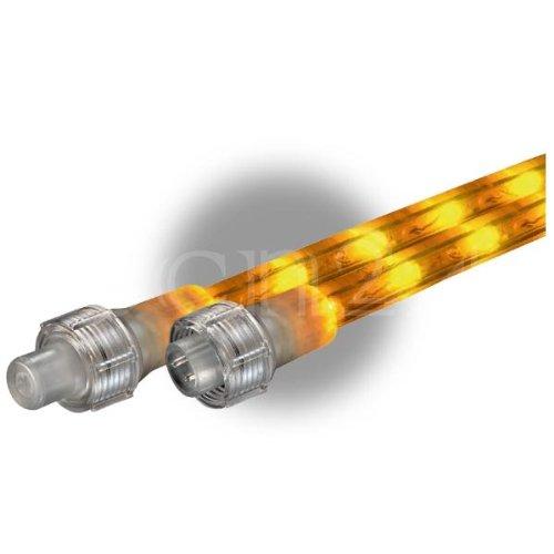 GEV LED Lichtschlauch Verlängerung 6,6m gelb