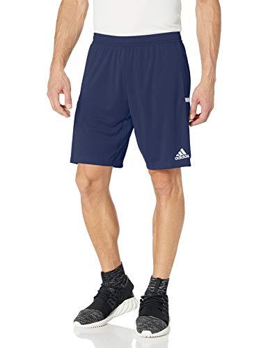 adidas 19 Knitted Pantalones Cortos, Team Navy Blue/White, XS para Hombre