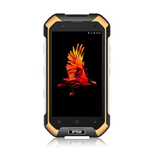 Blackview BV6000 Android 7.0 OS 4G LTE Smartphone Ohne Vertrag, IP68 Robuste Handy mit 4500mAh Big Akku, 4,7 '' HD 1280 * 720 Bildschirm, 3GB RAM + 32GB ROM, 5MP + 13MP Kamera, NFC