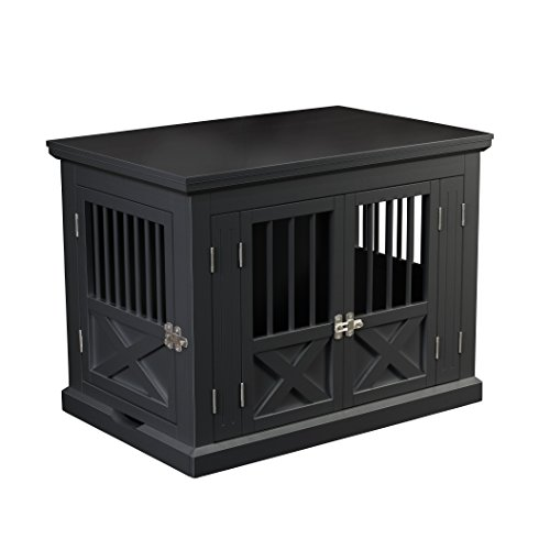 zoovilla Merry Products Triple Door Medium Dog Crate, Dog Kennel, Dog Cage
