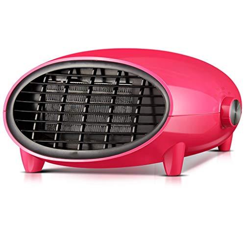 Calentador, calentador de baño casa, calentamiento rápido, montado en la pared calentador eléctrico, calefacción seguro, refrigeración y calefacción (Color : Red)