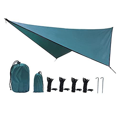 SXPSYWY Suministros de Camping Sunshade Outdoor Impermeable Sunscreen Tienda Círculo de Cuatro enamoras-Gris_Doble
