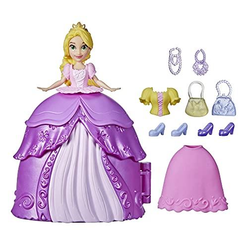 Hasbro Disney Princess Secret Styles, Fashion Surprise Rapunzel, Doll Playset con Vestiti e Accessori, Giocattolo per Bambine dai 4 Anni in su