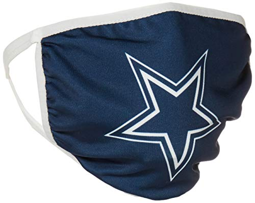 NFL Dallas Cowboys Unisex FOCO Face Mask Single, Multi-color, OSFA