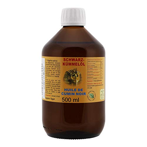 Aceite de comino negro - Nigella sativa De Egipto 1L
