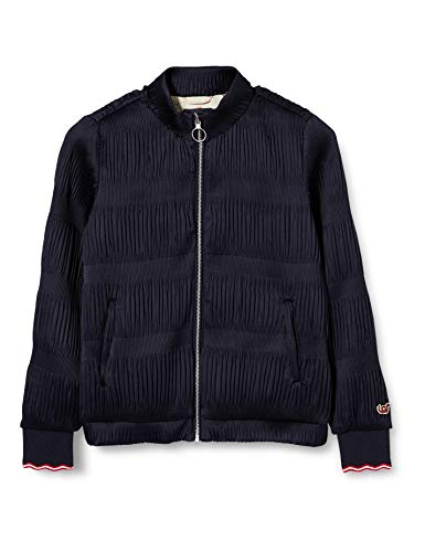Scotch & Soda R´Belle Girls Special Bomber in modern Plisse Quality Jacket, Midnight 0093, 10