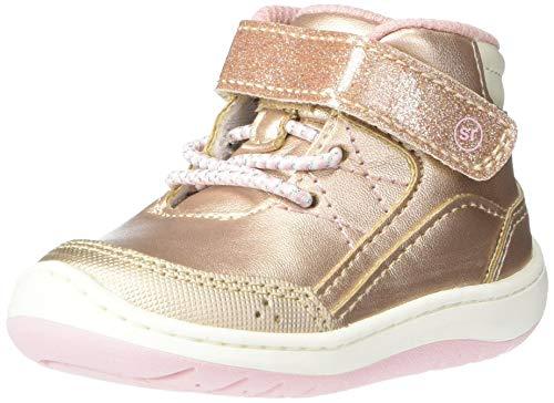 Stride Rite 360 Girls Leopold Fashion Boot, Rose Gold, 3 Little Kid