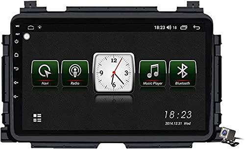 LYHY Android 10 Car Navigator GPS Stereo Radio para Honda XRV Fiber HR-V 2013~2018, 9'Pantalla Coche Media Player Soporte Carpaly / 4g FM RDS/Control Volante/Bluetooth Hands-Free