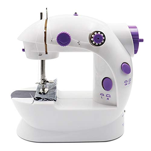 Naaimachines Elektrische Mini Naaimachine Naai Lock Stitch Adjustment Met Licht Handheld Portable ZHQHYQHHX