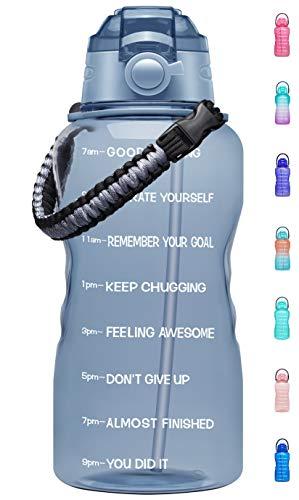 34% off a motivational water bottle