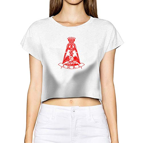 Scottish Rite- Knight of Rose Croix Summer 2020 New Women's Sexy Naked Belly Button T-Shirt Short Sleeve Short Top