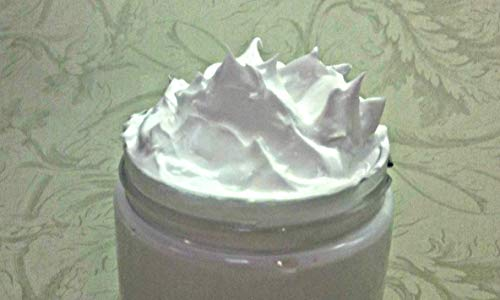 Unscented Whipped Soap | Fluffy Cream Soap | Soap In A Jar | Handmade | 4 fl oz