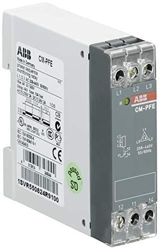 Phase Monitoring Relay, CM-PFE Series, SPDT, 4 A, DIN Rail, Screw, 250 V