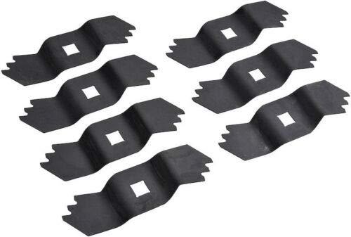 7 X Vertikutierer Messer für AL-KO 32 38 E P VLE VLB Comfort Combi-Care Grizzly / 462219 460773 460303