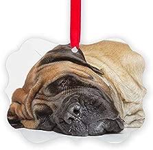 Quietee English Mastiff Sleep - Christmas Ornament, Decorative Tree Ornament