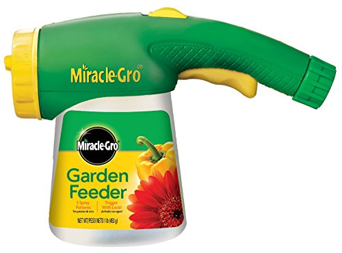 MiracleGro Garden Feeder with 1Pound MiracleGro All Purpose Plant Food