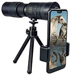 commercial Gehaw 4K 10-300 × 40 mm Super Telephoto Monocular Telescope for iPhone, Travel Scope 80… thermal monocular usa