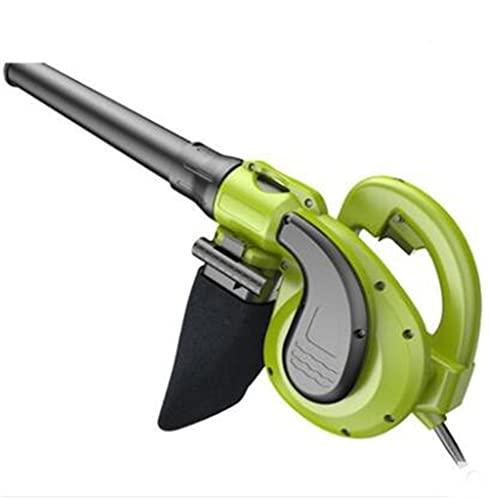 Soplador de Hojas, Funcionamiento a Largo Plazo de 6 velocidades Aspiradora y trituradora de Papel Apta para Hojas polvorientas (sin batería ni Cargador)