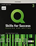 Q Skills for Success (3rd Edition). Reading & Writing 3. Student's Book Pack (Q Skills for Success 3th Edition)