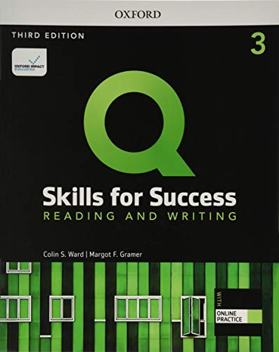 Q Skills for Success Reading and Writing, 3rd Level 3rd Edition Student book and IQ Online Access