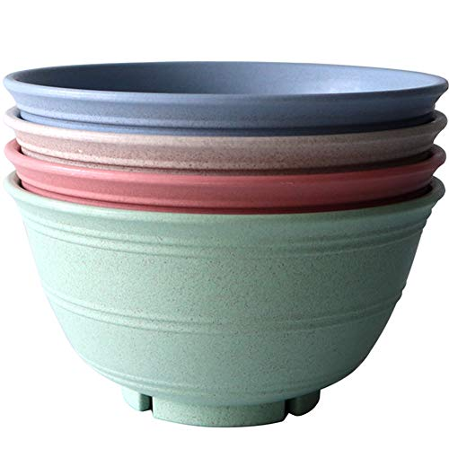Greenandlife 30 Ounce Lightweight & Unbreakable Wheat Straw Bowl -...