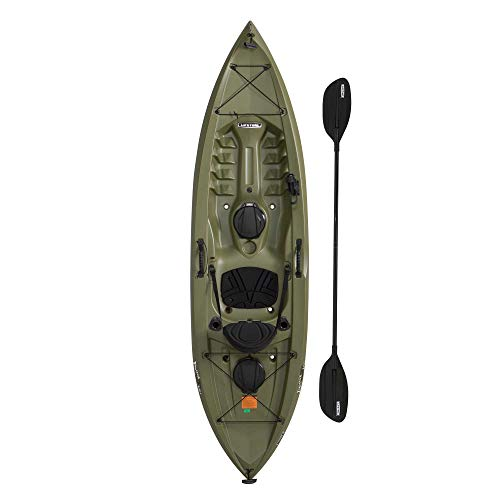 Tamarack Angler 100 Fishing Kayak with Paddles - Lifetime 90818