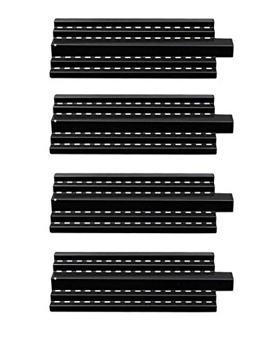 Zljoint 4-Pack Porcelain Steel Heat Plate Replacement for Select Gas Grill Models by Charbroil, Kenmore 16644, Kenmore 415.16042010, Kenmore 415.16644900, Kenmore 415.16941010, Kenmore 415.16943010