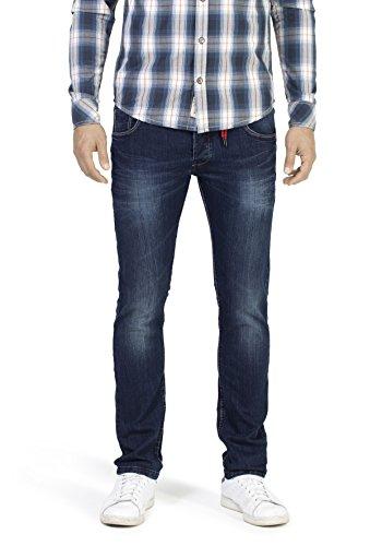 Timezone Herren Eduardo Slim Jeans, Blau (Dark Indigo Wash 3059), W29/L32
