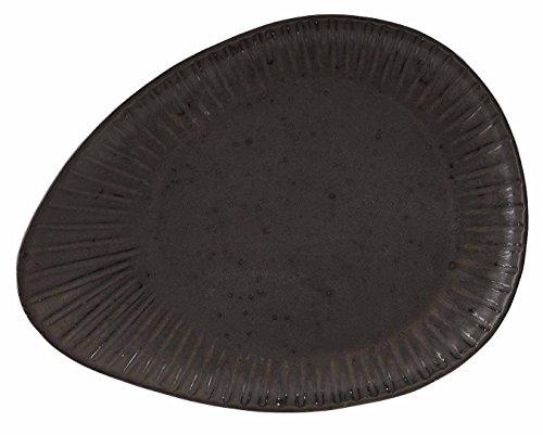 Stalwart C10804 Flint Reactive Assiette ovale, 34 cm (lot de 4)