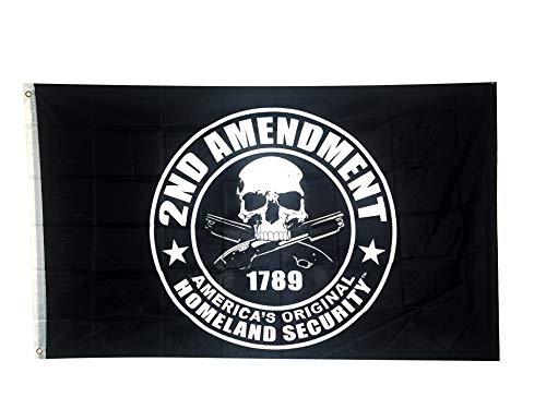 Executive Deals 2nd Amendment America's Original Homeland Security 3x5 Foot Indoor/Outdoor Flag
