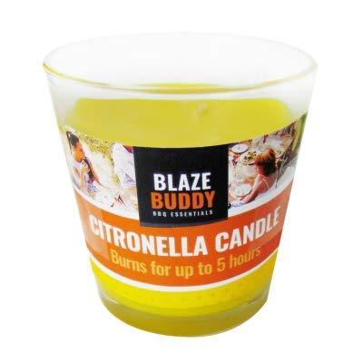 BLAZE BUDDY CITRONELLA - Barattolo per candele bruciate fino a 5 ore