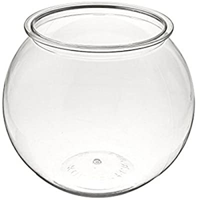 Kollercraft Aqua Accents Round Plastic Bowl 2 Gallon BL20RPET