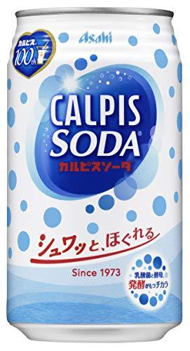 カルピスソーダ 350ml×24本 缶
