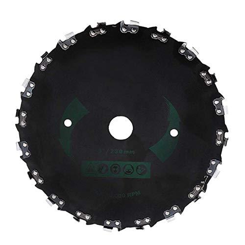 14-Dientes cuchilla del cortacésped ángulo recto sierra de cadena universal desbrozadora sierra de disco Jardín accesorios de la máquina de piezas