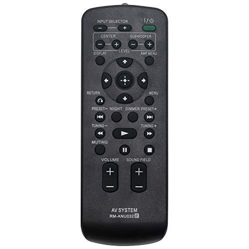 VINABTY RM-ANU032 Telecomando di ricambio per SONY RHT-G950 RHT-G1500 RHT-G1550 RHT-G11 RHT-G900 RHT-G550 RHT-G5 RHTG1500 RHTG11 RHTG15 RHTG550 RHTG5 RHTG900 RHTG950 RHTG1550 DTS Home Cinema System