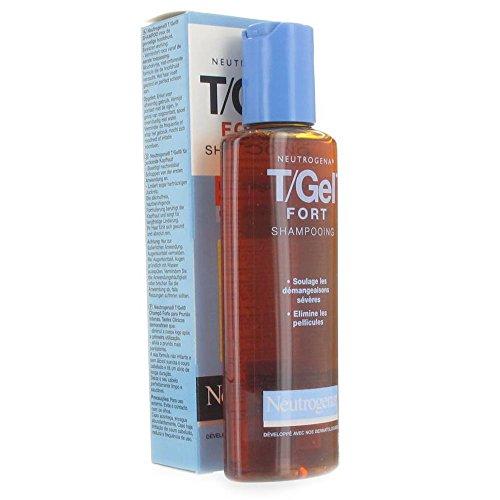 Neutrogena Gel Shampoo, T Gel Fort, 125 ml