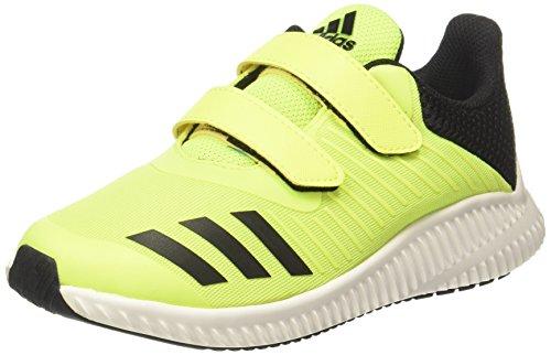 adidas adidas Unisex-Kinder Fortarun Cf K Gymnastikschuhe, Giallo (Giallo Amasol/Ftwbla/Negbas), 28 EU