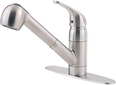 Top 10 Best laundry faucet with pull out sprayer Reviews