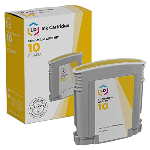 LD Remanufactured Ink Cartridge Replacement for HP 11 C4838A (Yellow)