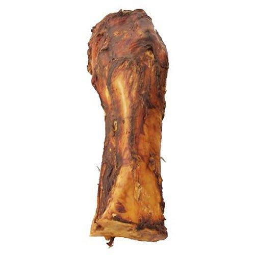 "Jones All Natural Slammer Bone Whole Meaty Beef Front Bone Dog Treats 10-12"""