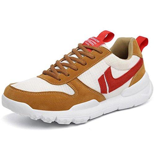 Hommes Chaussures Sneakers Maille Léger Chaussures de Course En Plein Air Respirant Femmes Sport Chaussures de Sport , C , 37