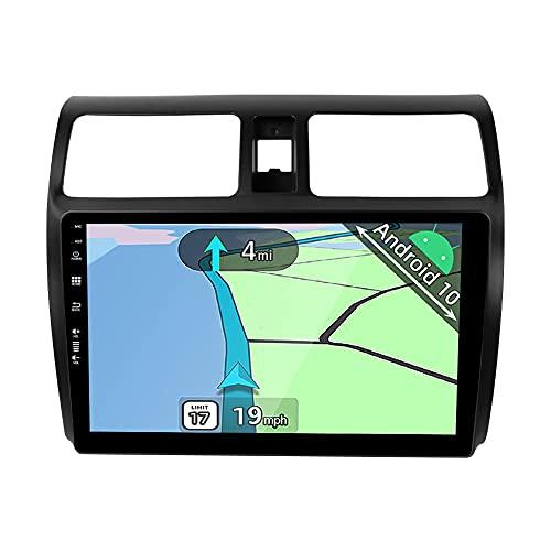 YUNTX Android 10 2 DIN Autoradio Apto per Suzuki Swift(2005-2019) - 10,1 Pulgadas - Gratis Cámara Trasera&Canbus - Soporte Dab / GPS / Mandos de Volante / CarPlay / WiFi / Bluetooth 5.0 / MirrorLink
