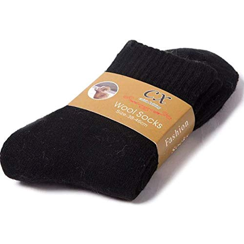 Holo Cute Verdicken Sie warme Socken Wintersocken Wolle Kaschmir Thermosocken für Männer Frauen