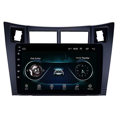 Navigatore gps touch screen per lettore Android 9.0 per Toyota Yaris 2008-2011 unità radio multimediale DAB WIFI da 9 pollici