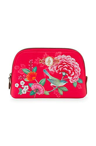 Pip Studio Cosmetic Bag Good Morning I Größe 19/15x12x6cm I Farbe Red