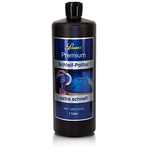 Preisvergleich Produktbild 1 Liter Petzoldts Premium Schleif Politur,  entfernt extra schnell Lackdefekte und Waschkratzer