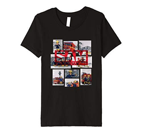 Kinder Feuerwehrmann Sam T-Shirt, Sam, viele Größen+Farben