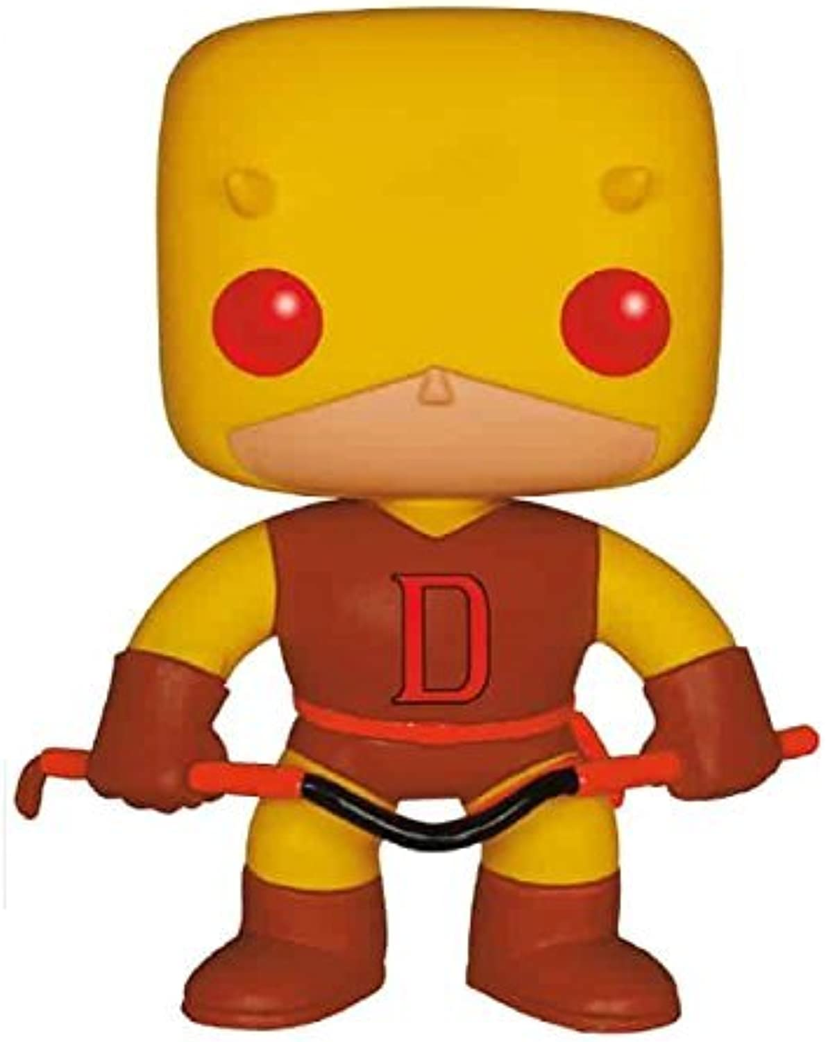 Funko Pop Marvel Daredevil Exclusive First Appearance Yellow Suit Vinyl Bobblehead Figure by FunKo