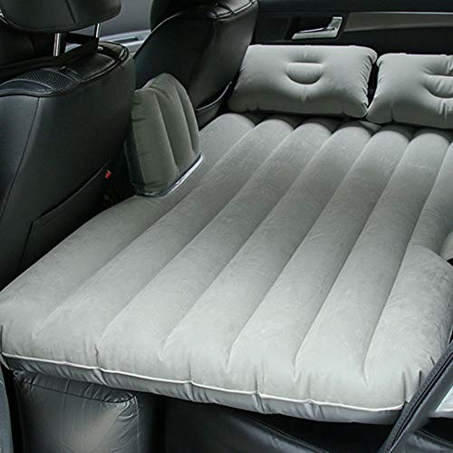 Sinbide Auto SUV Auto Luftmatratze aufblasbare MatratzeAuto Matratze mit Pumpe LuftbettBewegliche Dickere Luftbett Auto Matratze für Reisen Camping Outdoor