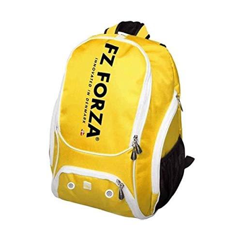 FZ Forza Lennon - Mochila de bádminton (amarillo), color negro, tamaño para 2 raquetas, para entrenadores o de ocio